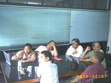 Eko Budhi Suprasetiawan menjelaskan tentang SIM Sekolah Kinabalu