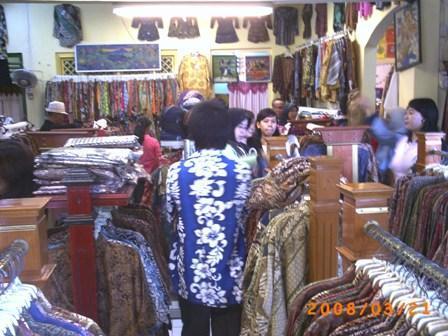 Beli Batik Tulis di Yogya