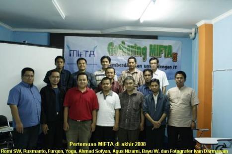 Pertemuan MIFTA Desember 2008