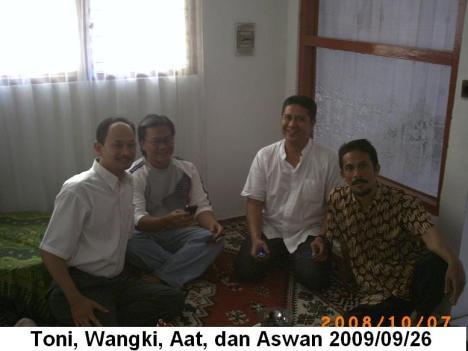 Toni, Wangki, Aat, dan Didi