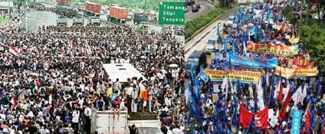 Demonstrasi 1998 - Ditunggangi CIA?