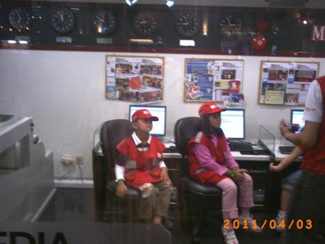 Hana dan Irfan jadi Reporter Media Indonesia
