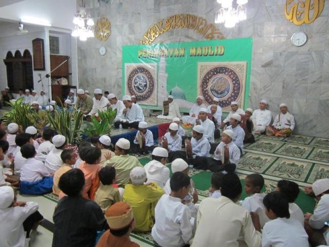 Perayaan Maulid Nabi di Masjid At Taubah 1433 Hijriyah