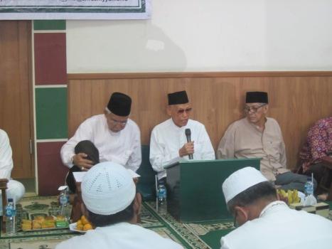 Pengajian Bersama KH Ali Yafie, KH Moehammad Zain, dan KH Mohamad Hidayat