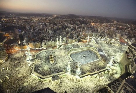 Masjidil Haram yang Ramai