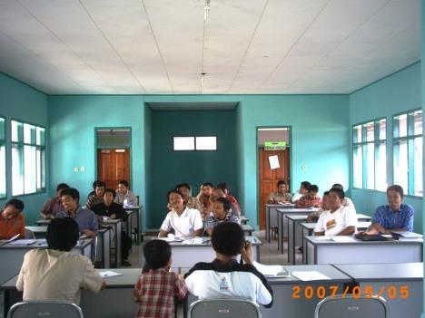 Briefing MIFTA di Pondok Pesantren Rancabango