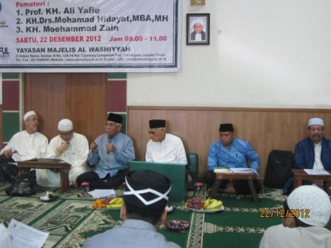 Habib Hud, KH Mohamad, KH Moehammad Zain, KH Ali Yafie, dan Ustad Alfian