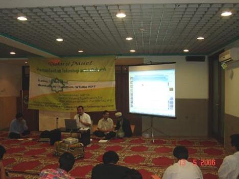 Ceramah Pemanfaatan TI untuk Dakwah bersama Ustad Amang Syafruddin dan Prihantoosa