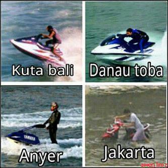 Jetski di Jakarta