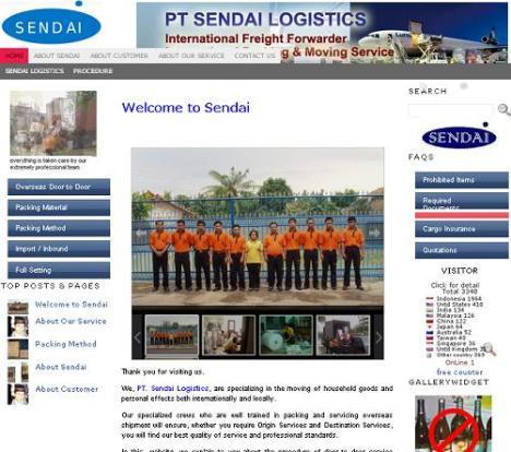 Website Sendai