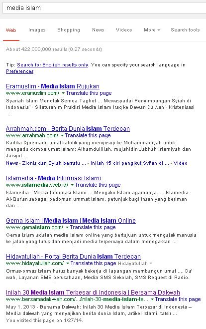 Cari Media Islam