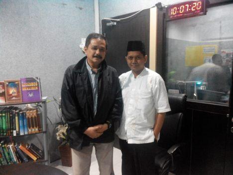 dr Joserizal Jurnalis dan saya