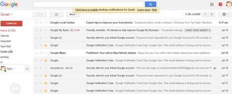 Gmailproblem